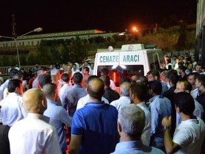 Konya'da kazada ölenlerin cenazeleri Şanlıurfa'ya ulaştı