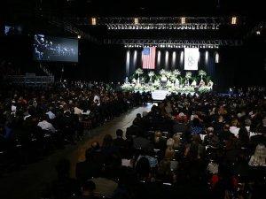 Muhammed Ali için anma töreni