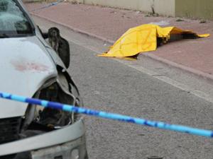 Eşini almaya giderken trafik kazasında öldü