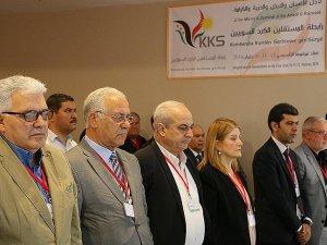 Suriyeli bağımsız Kürtler Şanlıurfa'da buluştu
