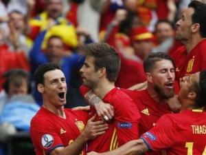 İspanya zor kazandı
