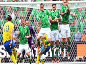 İrlanda ve İsveç 1'er puanla başladı