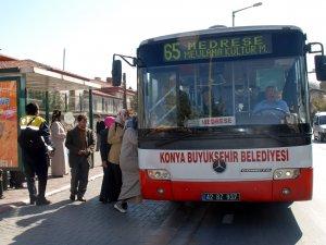 Konya'da toplu ulaşımda yaz tarifesi