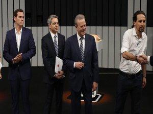 İspanya'da erken seçim öncesi liderler televizyonda tartıştı