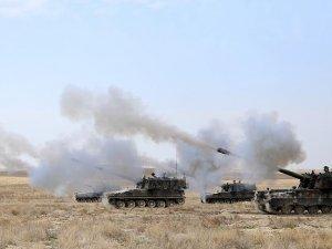 Türkiye'ye atış hazırlığında olduğu tespit edilen DAEŞ hedefleri vuruldu