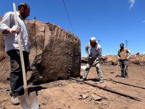 Taş işçilerinin zorlu ramazan mesaisi