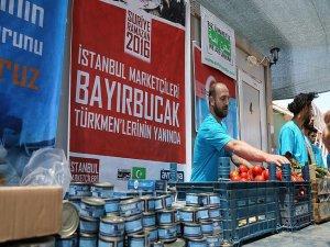 Bayırbucak Türkmenlerinin ramazan kumanyası Türkiye'den