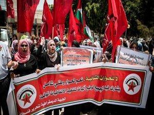 Gazze'de 'Siyasi bölünmüşlüğe son' eylemi düzenlendi