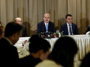 Başbakan Yardımcısı Kurtulmuş gazetecilerle iftarda buluştu