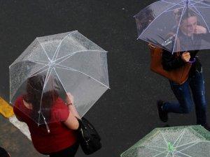 Meteorolojiden 5 il için sağanak ve kuvvetli rüzgar uyarısı