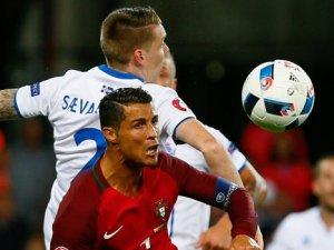 Ronaldo'dan İzlanda'ya tepki