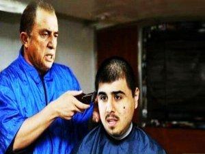 Ozan'ın saçları kesildi
