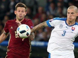 Slovakya, Rusya'yı 2-1 yendi