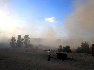 'Gazze'de duyulan patlama sesi denemeden kaynaklı'