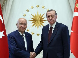 Erdoğan Yenimahalle Belediye Başkanı Yaşar'ı kabul etti