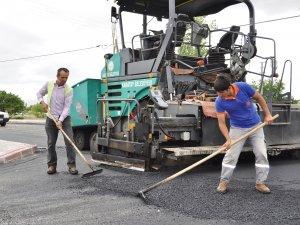 Karatay'da asfalt çalışmaları devam ediyor