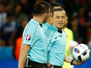 Cüneyt Çakır'ın yöneteceği ikinci maç belli oldu