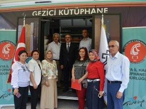 Konya'ya gezici kütüphane