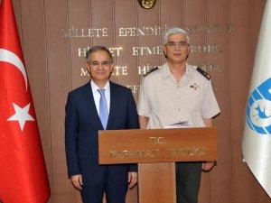 Karaman Valisi Tapsız'a hayırlı olsun ziyaretleri