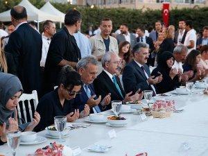 Kılıçdaroğlu gaziler ve şehit yakınlarıyla iftar yaptı