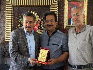 Acar'dan Başkan Tutal'a ziyaret