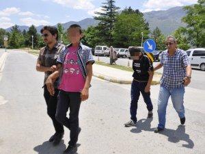 Seydişehir'de iki hırsızlık şüphelisi yakalandı