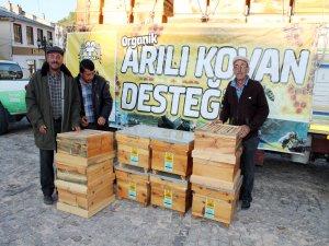 Konya Büyükşehir'den üreticiye arı desteği