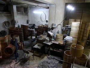 Davul imalatçılarının yüzü ramazanda gülüyor