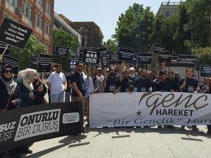 Genç Hareket'ten LGBT protestosu