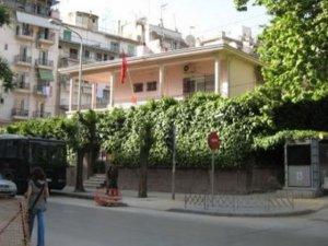 Türkiye'nin Selanik Başkonsolosluğu'na saldırı