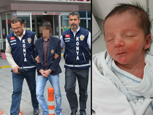 Soluk borusuna ıslak mendil kaçan bebeğin ölümüyle ilgili ilk duruşma