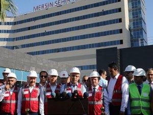 Mersin Şehir Hastanesi'nde sona gelindi