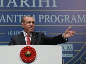 Erdoğan: Gezi Parkı'na o tarihi eseri inşa edeceğiz