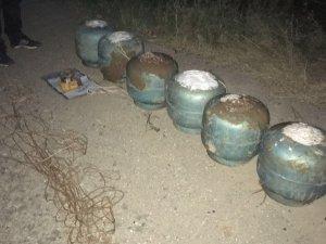 Bismil'de 72 kilogram patlayıcı bulundu