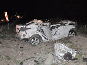 Yozgat'ta trafik kazası: 2 ölü, 3 yaralı