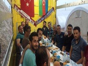 Nusaybin'deki özel harekatçılara Trabzon'dan destek