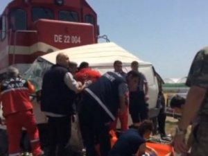 Elazığ'da hemzemin geçitte kaza: 9 ölü, 1 yaralı