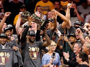 Cavaliers tarihinde ilk kez şampiyon
