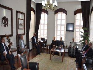 Konya Milletvekillerinden Vali Canbolat'a ziyaret