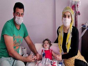 14 aylık Nisa Su yaşam mücadelesi veriyor