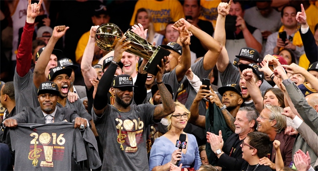 NBA'de şampiyon Cavaliers