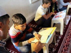 Terör mağduru çocuklar tatili Kur'an kurslarında geçirecek