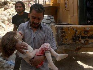 Halep'te yerleşim yerine saldırı: 8 ölü