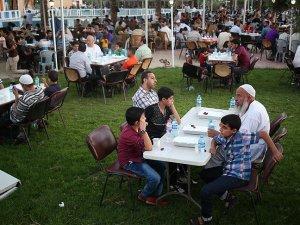 Anadolu Öğrenci Birliği'nden Gazze'de iftar