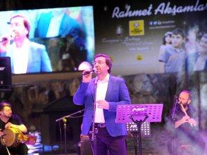 Konya'da Rahmet Akşamlarında Mustafa Demirci konseri