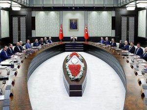 Erdoğan Bakanlar Kurulu üyeleriyle iftar yaptı