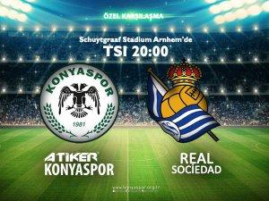 Atiker Konyaspor Real Sociedad ile karşılaşacak