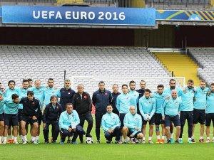 A Milli Futbol Takımı hazırlıklarını tamamladı
