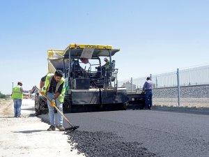 Meram'da asfalt çalışmaları sürüyor