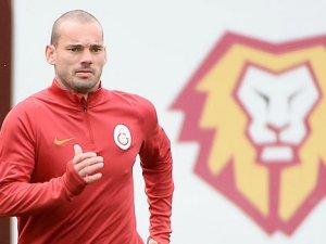 Galatasaray'da Sneijder zirvesi